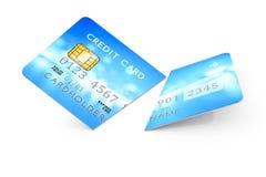 Expired cut credit card Stock Photos