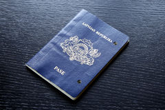 Expired invalid passport damaged after expiration day Royalty Free Stock Image