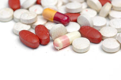Expired medicine Royalty Free Stock Photo