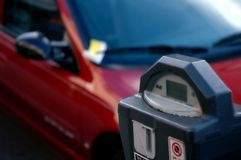 Expired Parking Meter Stock Images