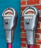 Expired - Parking Meters Stock Images