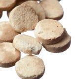 Expired pills isolated on white background Stock Photos