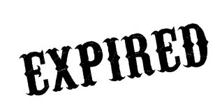 Expired rubber stamp. Grunge design with dust scratches. Effects can be easily removed for a clean, crisp look. Color is easily changed Stock Photography