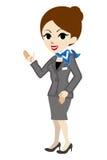Explaining Concierge Stock Image