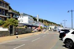 Explanada, Shanklin, isla del Wight, Reino Unido foto de archivo
