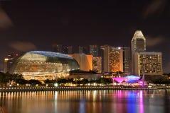 Explanada Singapur Imágenes de archivo libres de regalías