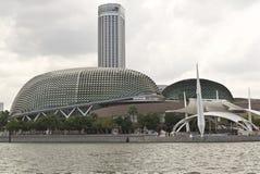 Explanada Singapur Fotografía de archivo libre de regalías