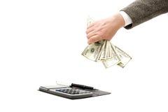 Explicar e finanças Imagem de Stock Royalty Free