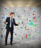 Explique a análise com tabuleta fotos de stock royalty free