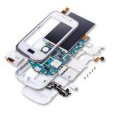 Exploda a ideia do telefone celular Imagens de Stock