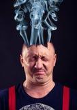 Exploded head Stock Photography