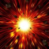 Explodeer Royalty-vrije Stock Afbeeldingen