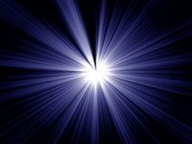 Explodeer vector illustratie