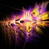 Exploderende kleuren Royalty-vrije Stock Afbeelding