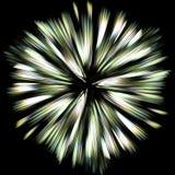 Explodierende Farben Stockbild