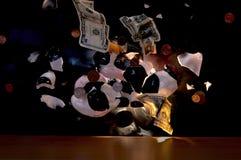Explodierende Sparungen Lizenzfreie Stockbilder