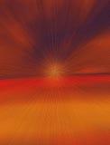 Explodierender Himmel-Auszugs-Hintergrund Stockfotografie