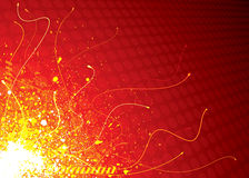 Exploding. Futuristic Exploding Background, vector illustration layers file Stock Photos