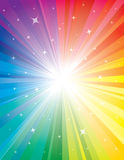 Exploding Background of Colour. An illustration of an expanding colourful background Stock Photos