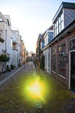 Exploding ball on street in Haarlem. The Netherlands stock photos
