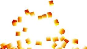 Exploding Block Wall (Bright Light Rays) stock video