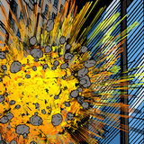 Exploding building Stock Photos