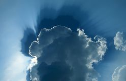 Exploding Cloud Stock Images