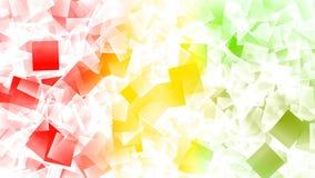 Exploding cubes futuristic background royalty free illustration