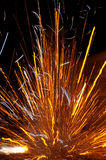 Exploding firecracker Royalty Free Stock Photos