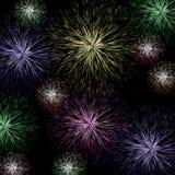 Exploding Firework Background Stock Photos
