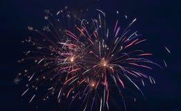 Exploding Firework Royalty Free Stock Photos