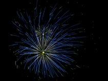 Exploding fireworks Stock Image