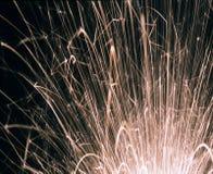 Exploding fireworks Stock Images