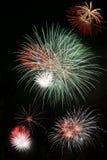 Exploding Fireworks Royalty Free Stock Image