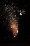 Exploding Fireworks Royalty Free Stock Image