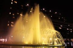 Exploding Fountains Royalty Free Stock Photos