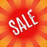 Exploding inscription sale. Royalty Free Stock Photography