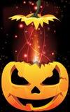 Exploding Jack-o-Lantern Stock Images