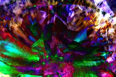 exploding multicolor composition Royalty Free Stock Photo