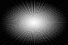 Exploding Star Background. Bright Exploding Star Ray Background royalty free illustration