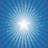 Exploding Star Burst Background. Exploding Sparkling Star Burst Background Stock Images