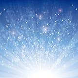 Exploding stars usa base Stock Image