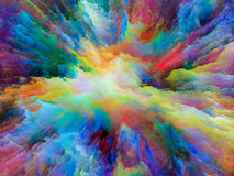 Exploding Surreal Paint Stock Photos