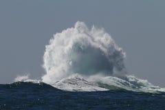 Exploding wave Stock Image