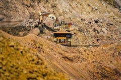 Exploitation à ciel ouvert Botswana de mine de diamant images libres de droits
