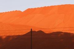 Exploitation de bauxite Images libres de droits