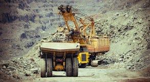 Exploitation de minerai de fer Image stock