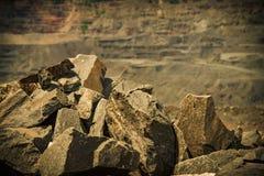 Exploitation de minerai de fer Image libre de droits