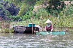 Exploitation de pisciculture Image stock