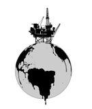 The exploitation of the earth Stock Photo